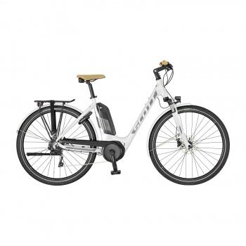 Vélo Electrique Scott Sub Tour eRide 10 Unisex Blanc 2019 (270000)