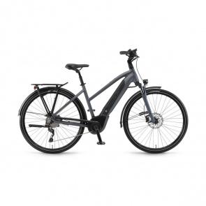 Winora - Promo Vélo Electrique Winora Sinus i10 500 Trapèze Gris 2019 (44269108)