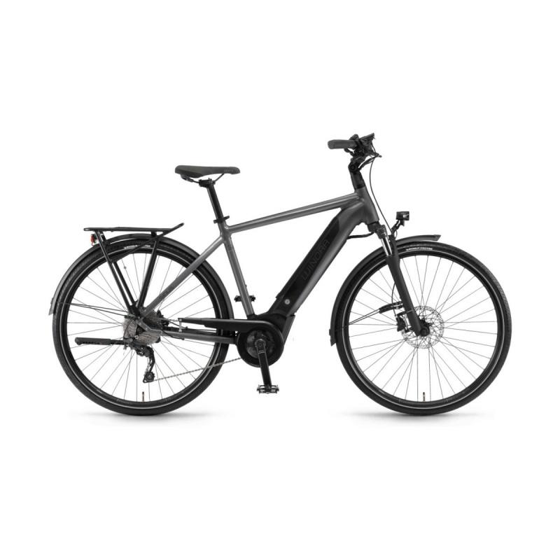 Vélo Electrique Winora Sinus i9 500 Titane 2020 (44290098)