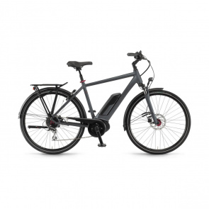 Winora - Promo Vélo Electrique Winora Sinus Tria 8 400 Gris Mat 2019 (44220089)