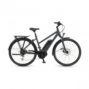 Winora - Promo Vélo Electrique Winora Sinus Tria 8 400 Trapèze Gris Mat 2019 (44221089)