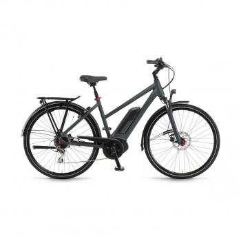 Vélo Electrique Winora Sinus Tria 8 400 Trapèze Gris Mat 2019 (44221089)