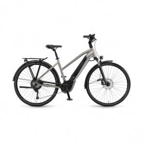Winora - Promo Vélo Electrique Winora Sinus iX11 500 Trapèze Sable 2019 (44271118)