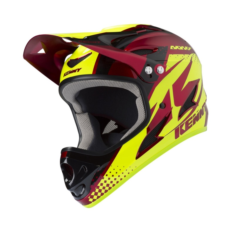 Casque Kenny Downhill Rouge Candy 2020