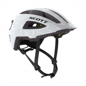 Scott textile Scott Groove Plus Helm Wit 2019