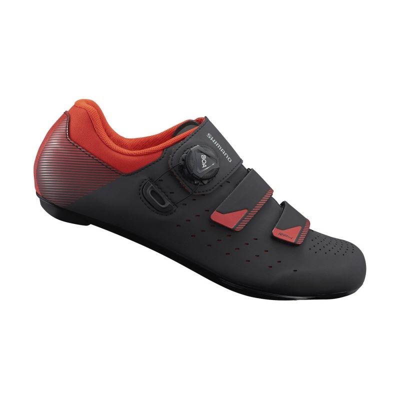 Chaussures Route Shimano RP400 Noir/Orange 2019