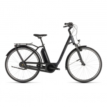 Vélo Electrique Cube Town Hybrid One 500 Easy Entry Noir/Vert 2018 (132101)