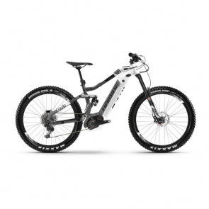 "Haibike - Promo VTT Electrique 27.5"" Haibike XDuro Nduro 3.0 500 Blanc/Gris 2019 (45410969)"