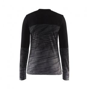 Craft Sous-vêtement Manches Longues Craft Wool Comfort 2.0 Noir/Gris 2018-2019