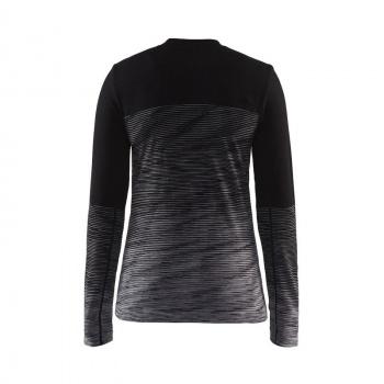 Craft Wool Comfort 2.0 Ondershirt met Lange Mouwen Zwart/Grijs 2018-2019