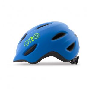 Giro Giro Scamp Helm voor Kinderen Mat Blauw/Floral 2019