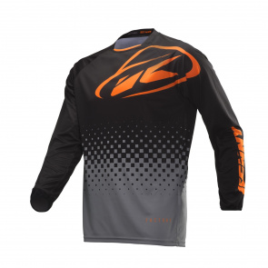 Kenny Maillot Manches Longues Kenny Factory Noir/Orange 2019