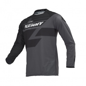 Kenny Maillot Manches Longues Kenny Track Noir 2019