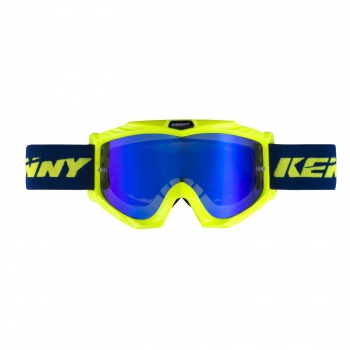Kenny Track+ Goggle Blauw/Fluo Geel 2019