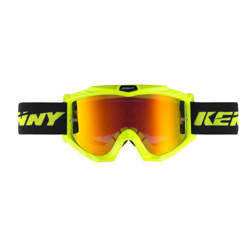 Kenny Track+ Goggle Fluo Geel 2021