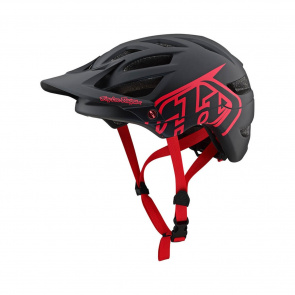 Troy Lee Designs Troy Lee Designs A1 Drone Helm Zwart/Rood 2019