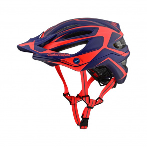 Troy Lee Designs Troy Lee Designs A2 MIPS Dropout Helm Blauw/Oranje 2019