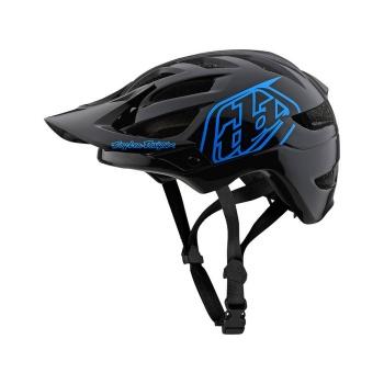 Troy Lee Designs A1 Drone Helm voor Kinderen Zwart/Blauw 2019