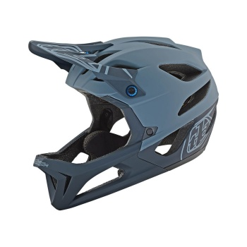 Casque Troy Lee Designs Stage Gris Stealth 2019