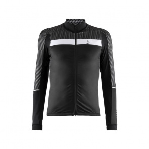 Craft Maillot Manches Longues Craft Route Noir/Blanc 2019