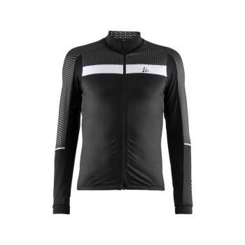 Craft Route Shirt met Lange Mouwen Zwart/Wit 2019
