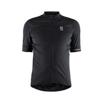 Craft Point Shirt met Korte Mouwen Zwart/Wit 2019