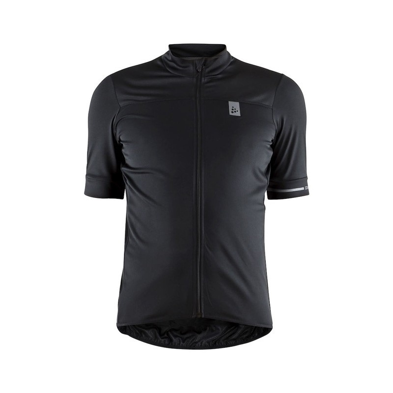 Maillot Manches Courtes Craft Point Noir/Blanc 2019