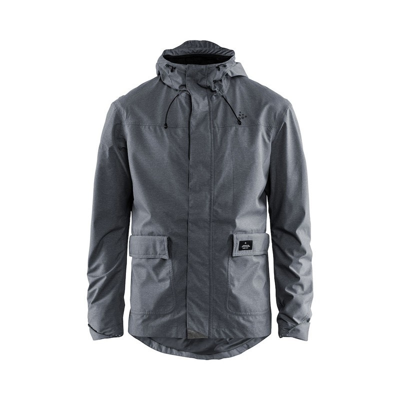 Veste Craft Ride Precip Gris Melange 2019