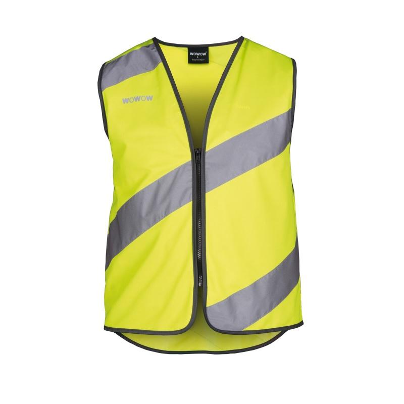 Wowow Roadie Jacket Vest Geel