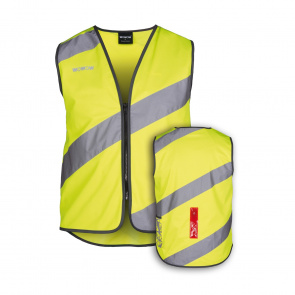 Wowow Roadie LED Jacket Vest Geel