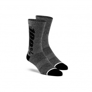 100% Chaussettes 100% Rythym Noir/Antracite Heather 2019