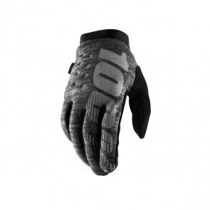 100% 100% Brisker Handschoenen Heather Grijs 2019