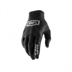 100% 100% Celium 2 Handschoenen Zwart/Zilver 2019