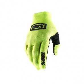100% 100% Celium 2 Handschoenen Fluo Geel/Zwart 2019