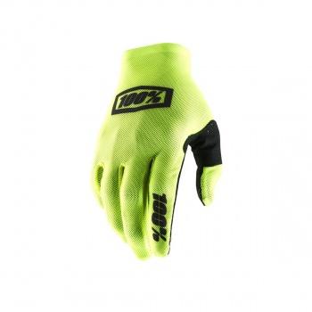 100% Celium 2 Handschoenen Fluo Geel/Zwart 2019