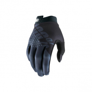 100% 100% iTrack Handschoenen Zwart/Antraciet 2019