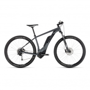 "Cube - Promo Cube Reaction Hybrid One 500 Elektrische 29"" MTB Iridium/Wit 2019"