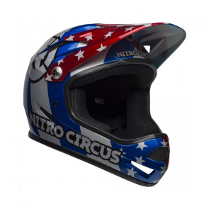 Bell Casque Bell Sanction Rouge/Argent/Nitro Circus 2019