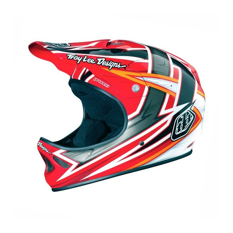 Troy Lee Designs D2 Proven Helm Rood