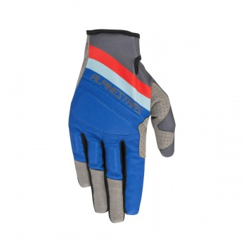 Alpinestars Aspen Pro Handschoenen Zwart/Antraciet/Blauw/Rood 2019