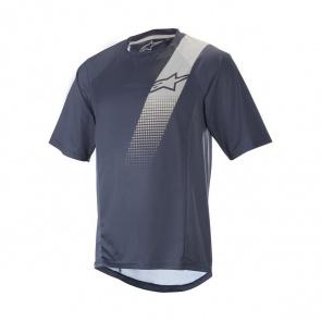 Alpinestars Alpinestars Trailstar V2 Shirt met Korte Mouwen Donkerblauw/Oker 2019