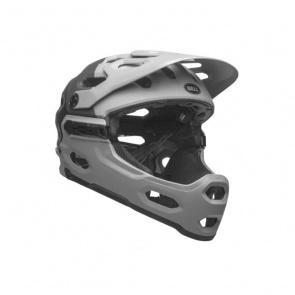 Bell Bell Super 3R MIPS Helm Downdraft Mat Grijs/Gunmetal 2021