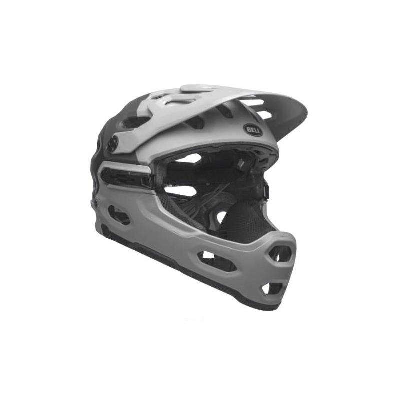 Bell Super 3R MIPS Helm Downdraft Mat Grijs/Gunmetal 2021