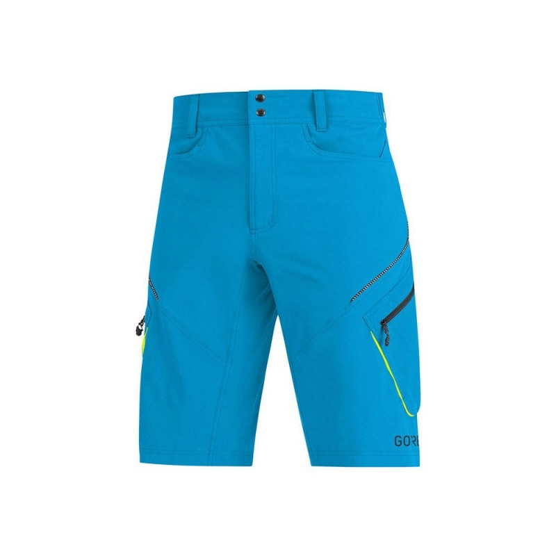 Short Gore Wear Trail C3 Bleu Cyan 2019