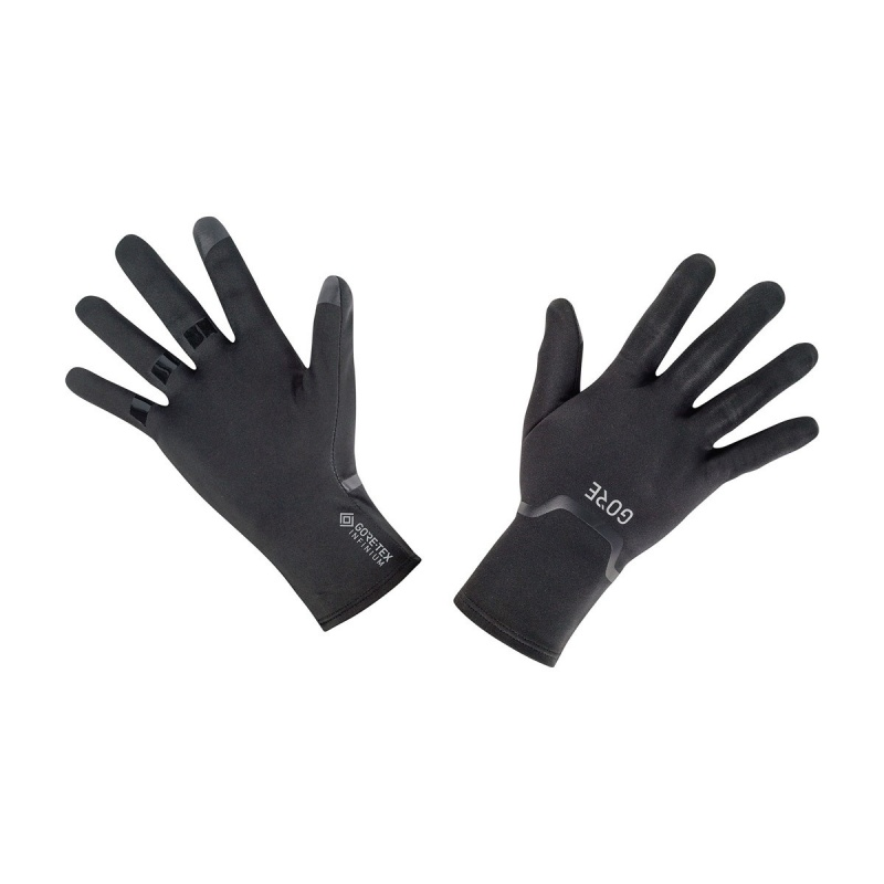 Gore Wear Gore-Tex Infinium Stretch Handschoenen Zwart 2019