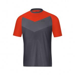 Gore Bike Wear Gore Wear C5 Trail Shirt met Korte Mouwen Terra Grijs/Oranje 2019