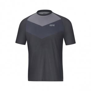 Gore Bike Wear Gore Wear C5 Trail Shirt met Korte Mouwen Terra Grijs 2019