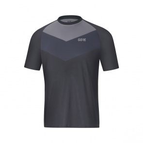 Gore Bike Wear Maillot Manches Courtes Gore Wear C5 Trail Gris Terra 2019