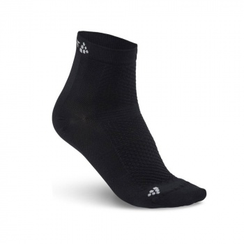 Chaussettes Craft Stay Cool Mid Sock Noir 2019