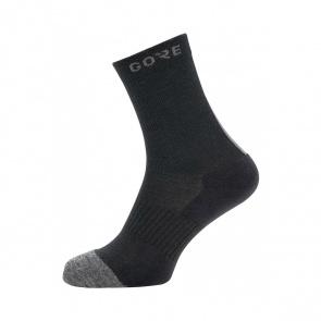 Gore Wear Chaussettes Gore Wear Thermo Mid Socks Noir/Gris 2020-2021